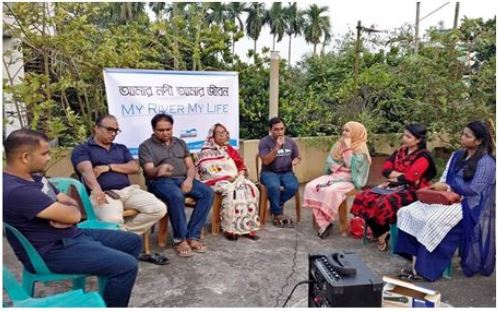 Discussion meeting on 'My River My Life'